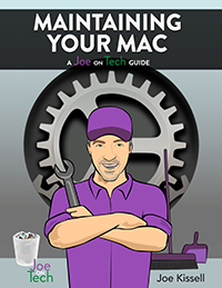 Take Control of Maintaining Your Mac cover