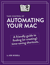 Take Control of Automating Your Mac cover