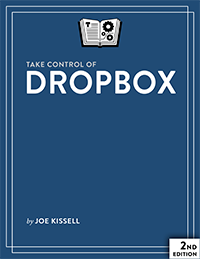 Take Control of Dropbox cover