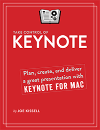 Take Control of Keynote cover