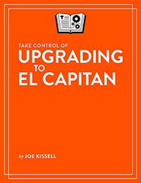 Take Control of Upgrading to El Capitan cover