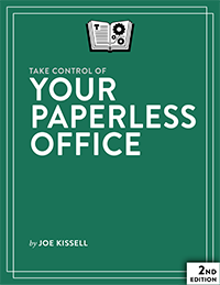 Take Control of Your Paperless Office cover